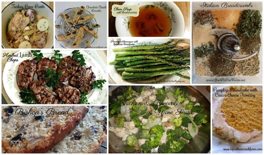 Recipes at Back To Our Roots.net
