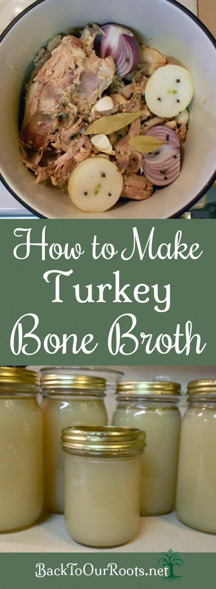 How To Make Turkey Bone Broth