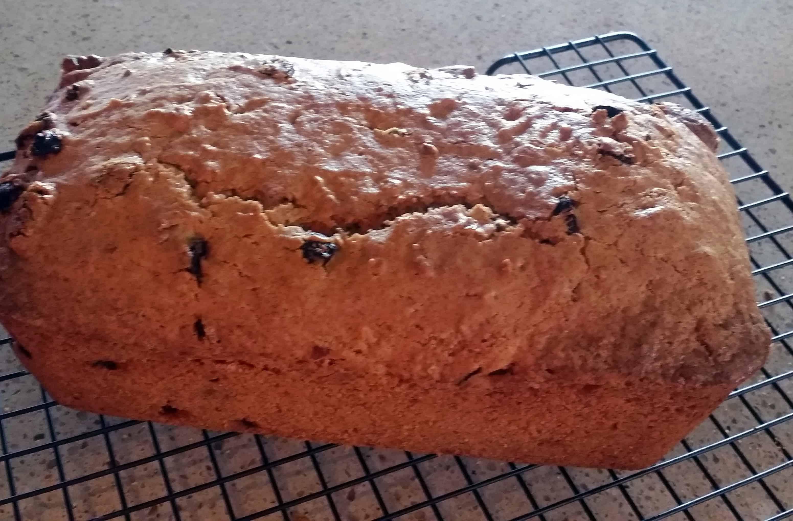 baked Bishop's Bread