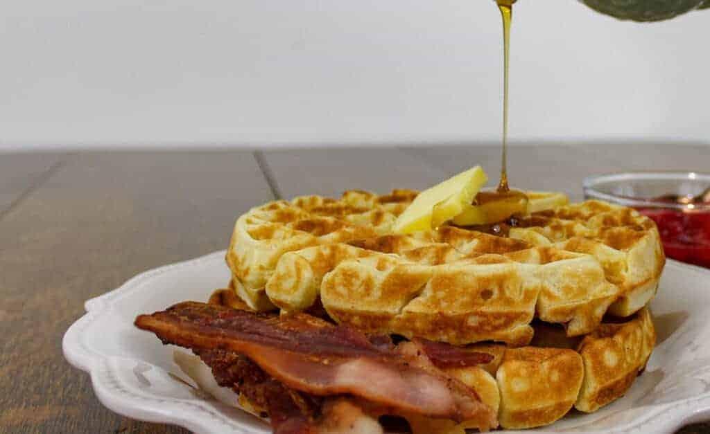 Simply the Best Sourdough Waffles