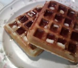 Yummy Buttery Syrup-y Waffleiciousness