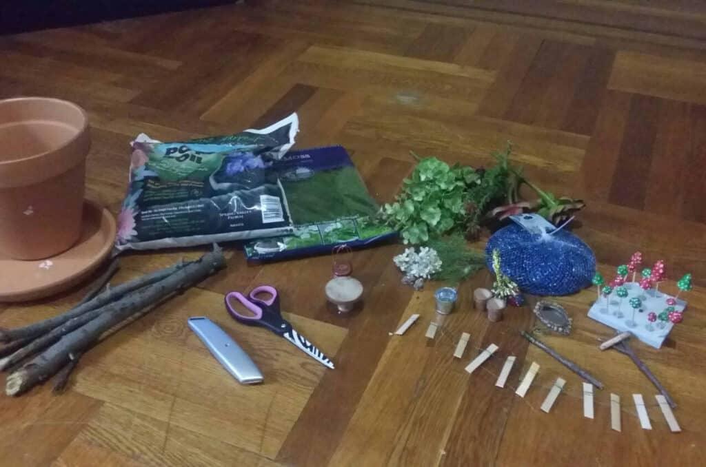 supplies for fairy garden