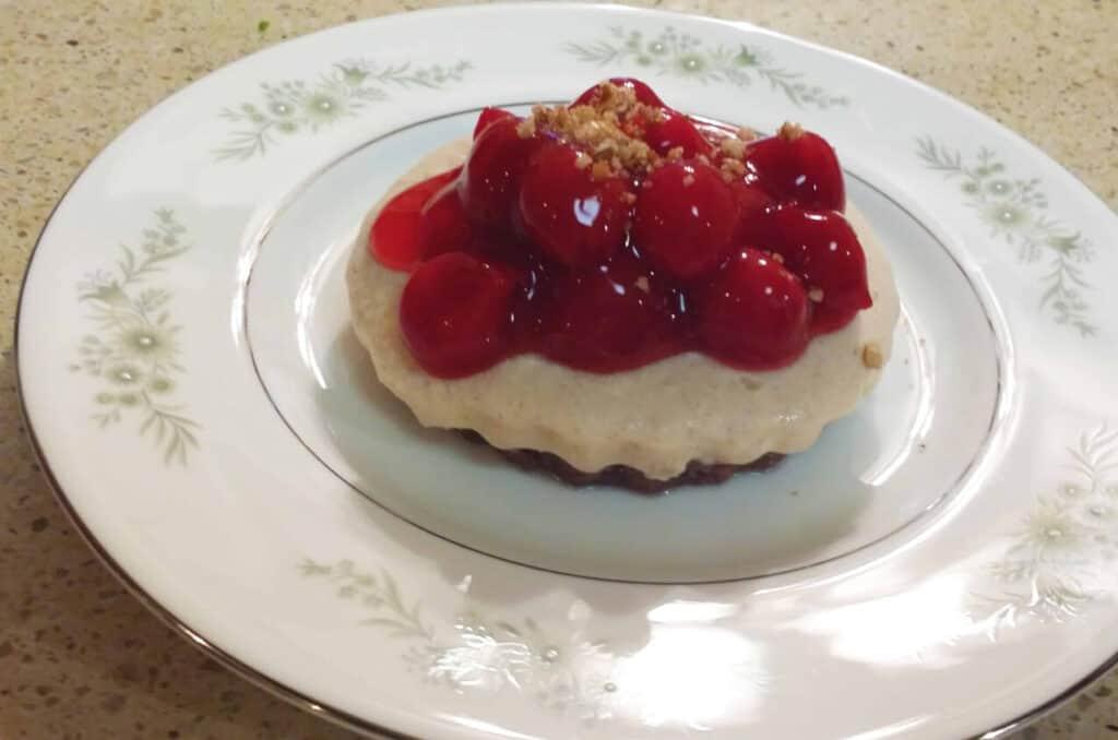 Cherry Cream Cheese Pie with Pecan Crust