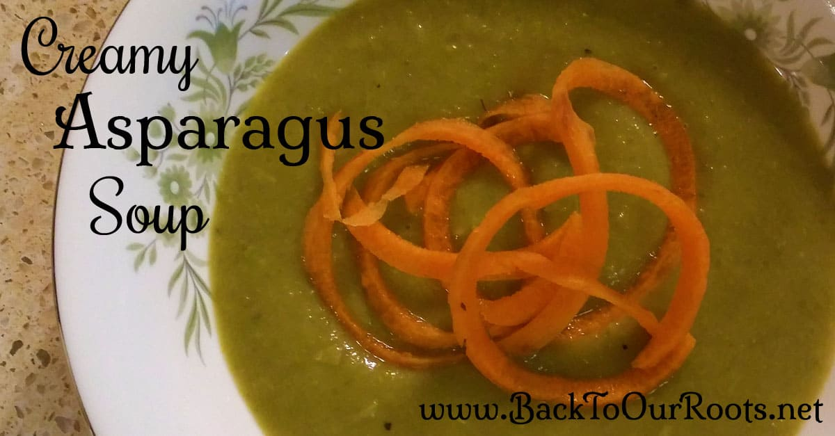 Creamy & Delicious Asparagus Soup