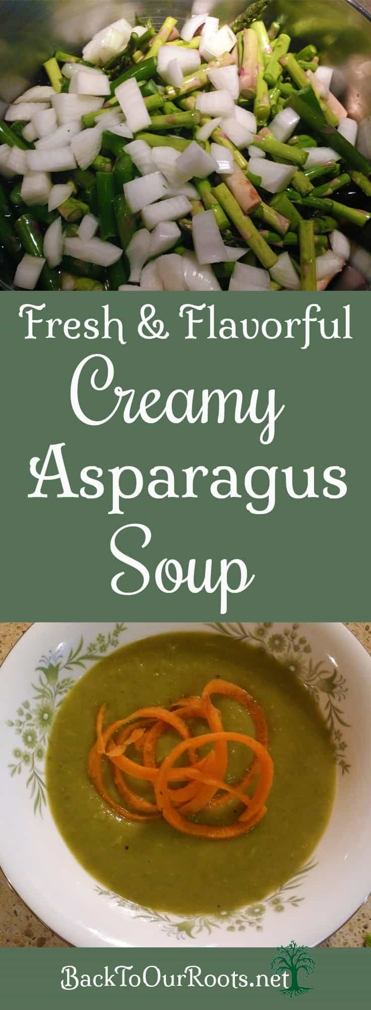 Fresh, Flavorful, Healthy Asparagus Soup