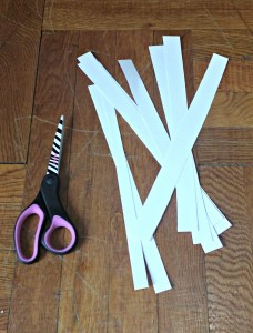 Paper handles for May Day Posies