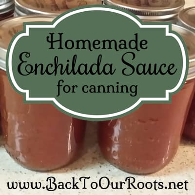 Homemade Enchilada Sauce for Canning