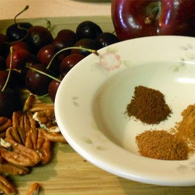 Probiotic Apple Cherry Pecan Chutney