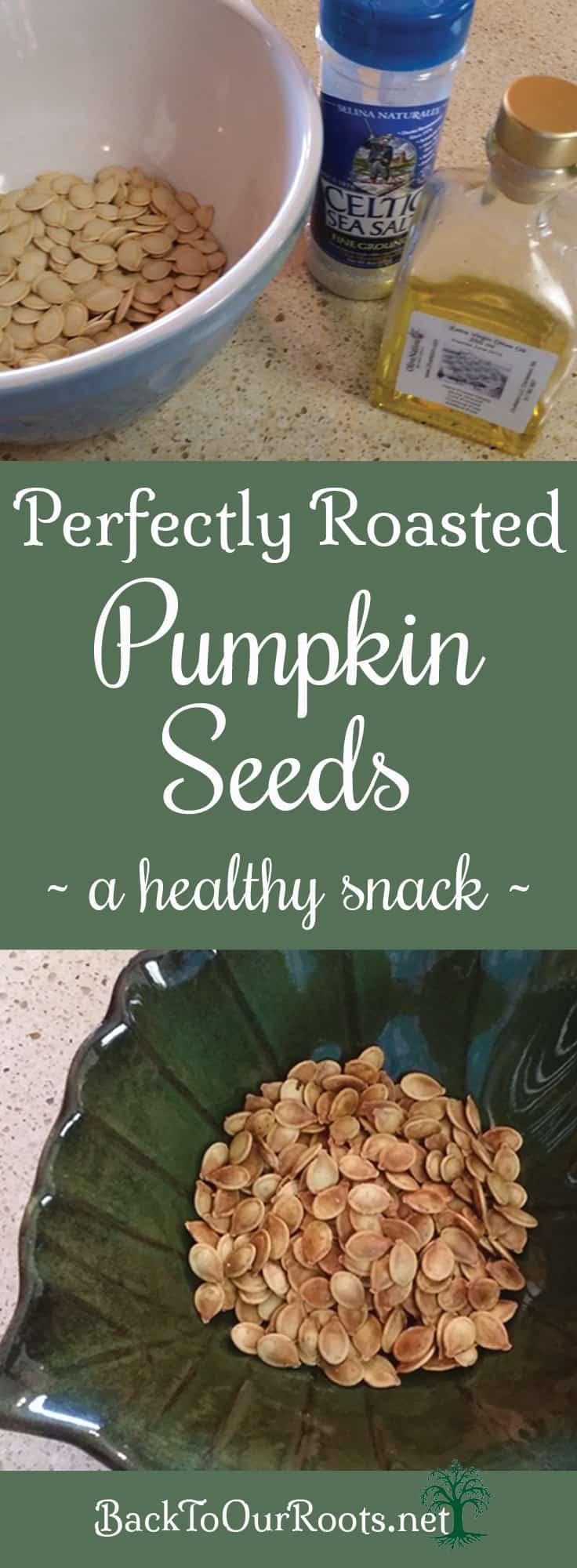 How To Perfectly Roast Pumpkin Seeds