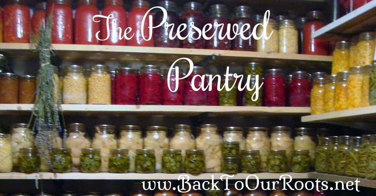 The Preserved Pantry