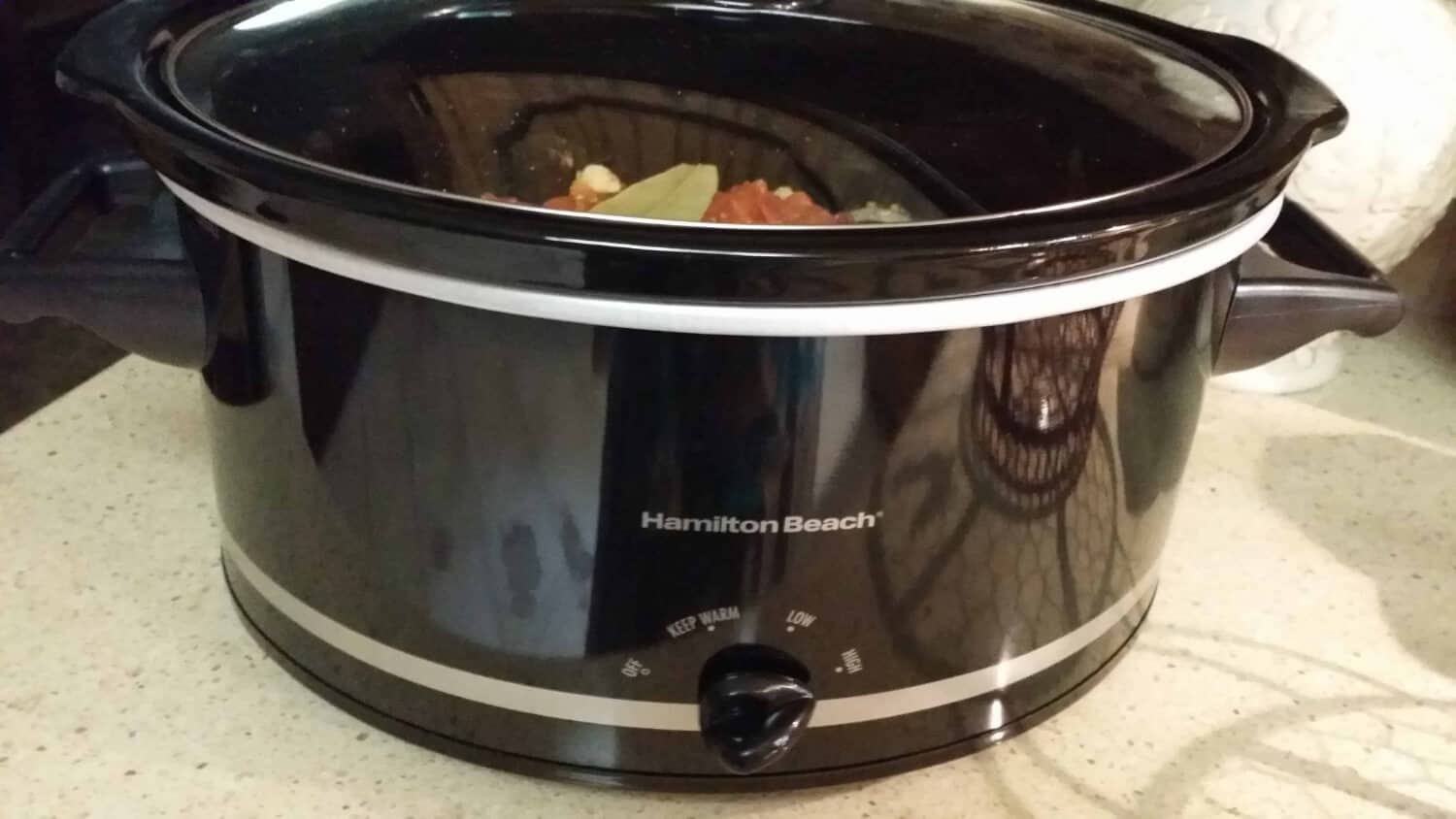 cooking Crockpot Venison Goulash