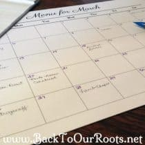 Menu Planning ~ What It Is and How To Do It