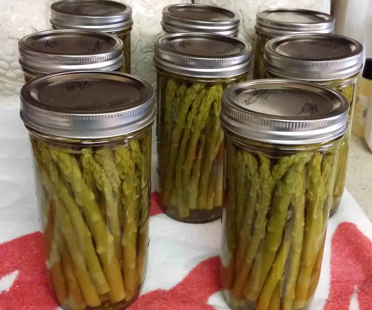 canning asparagus | how to can asparagus