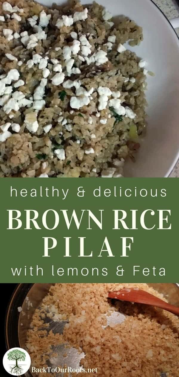 Healthy & Delicious Brown Rice Pilaf