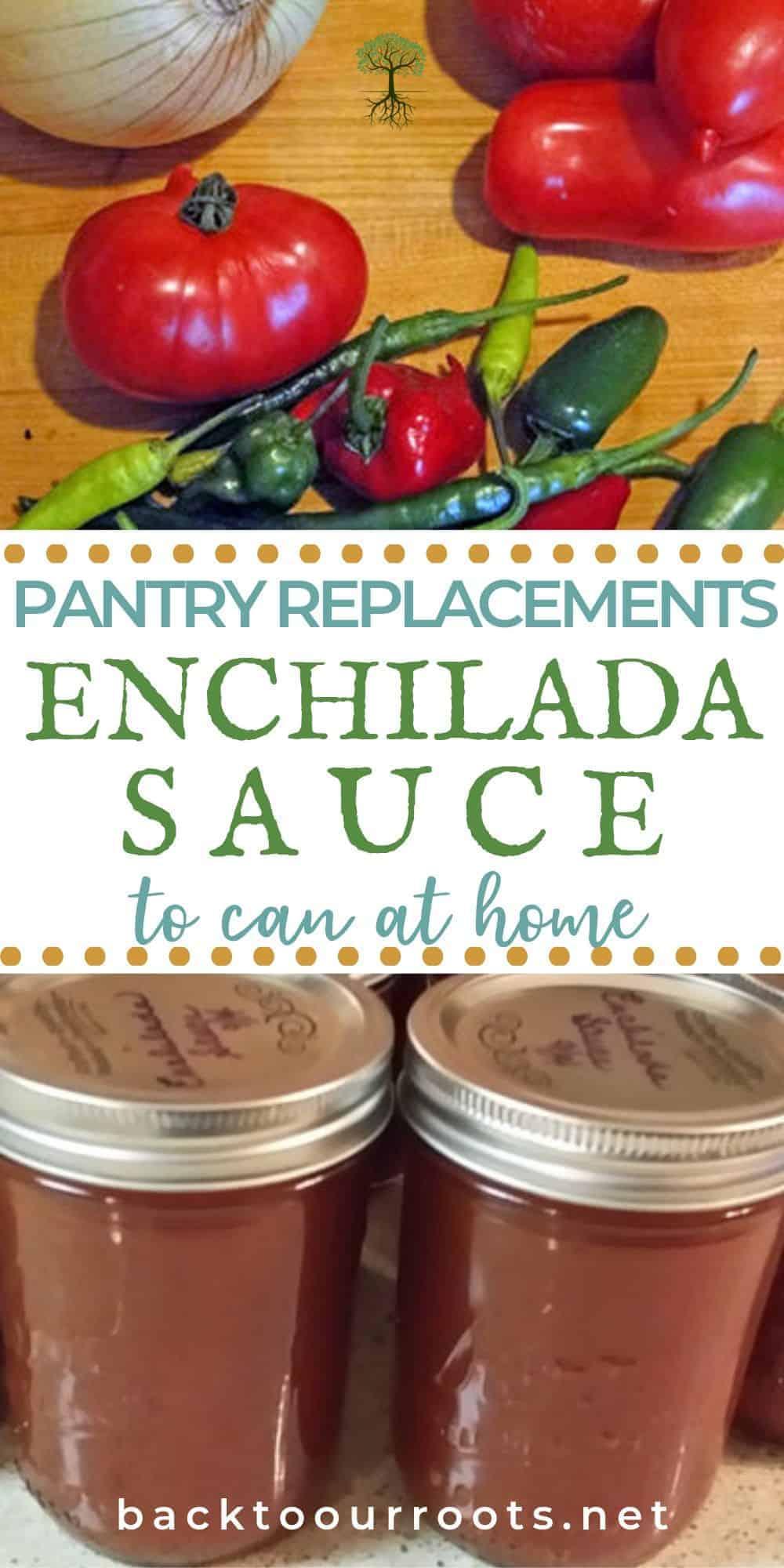 Canning Enchilada Sauce