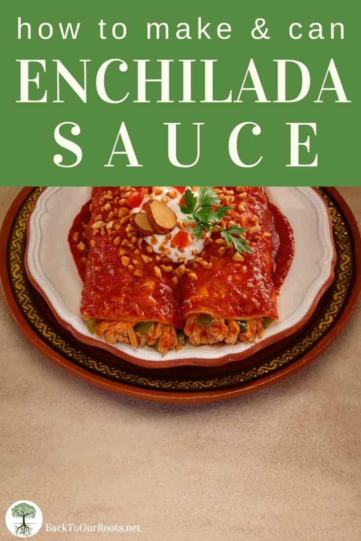 How to Make and Can Enchilada Sauce
