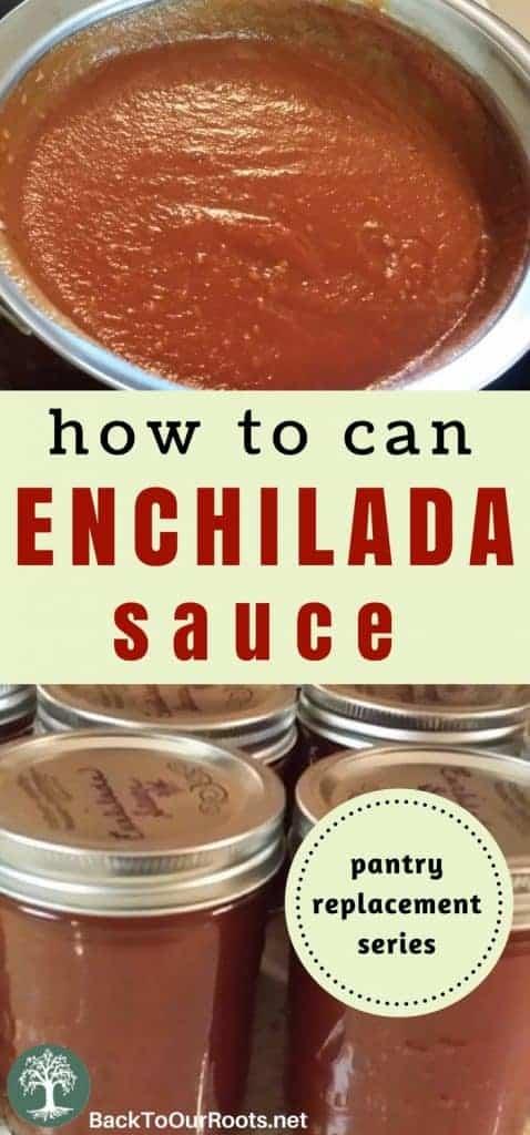 Enchilada Sauce~Homemade~Canning Recipe