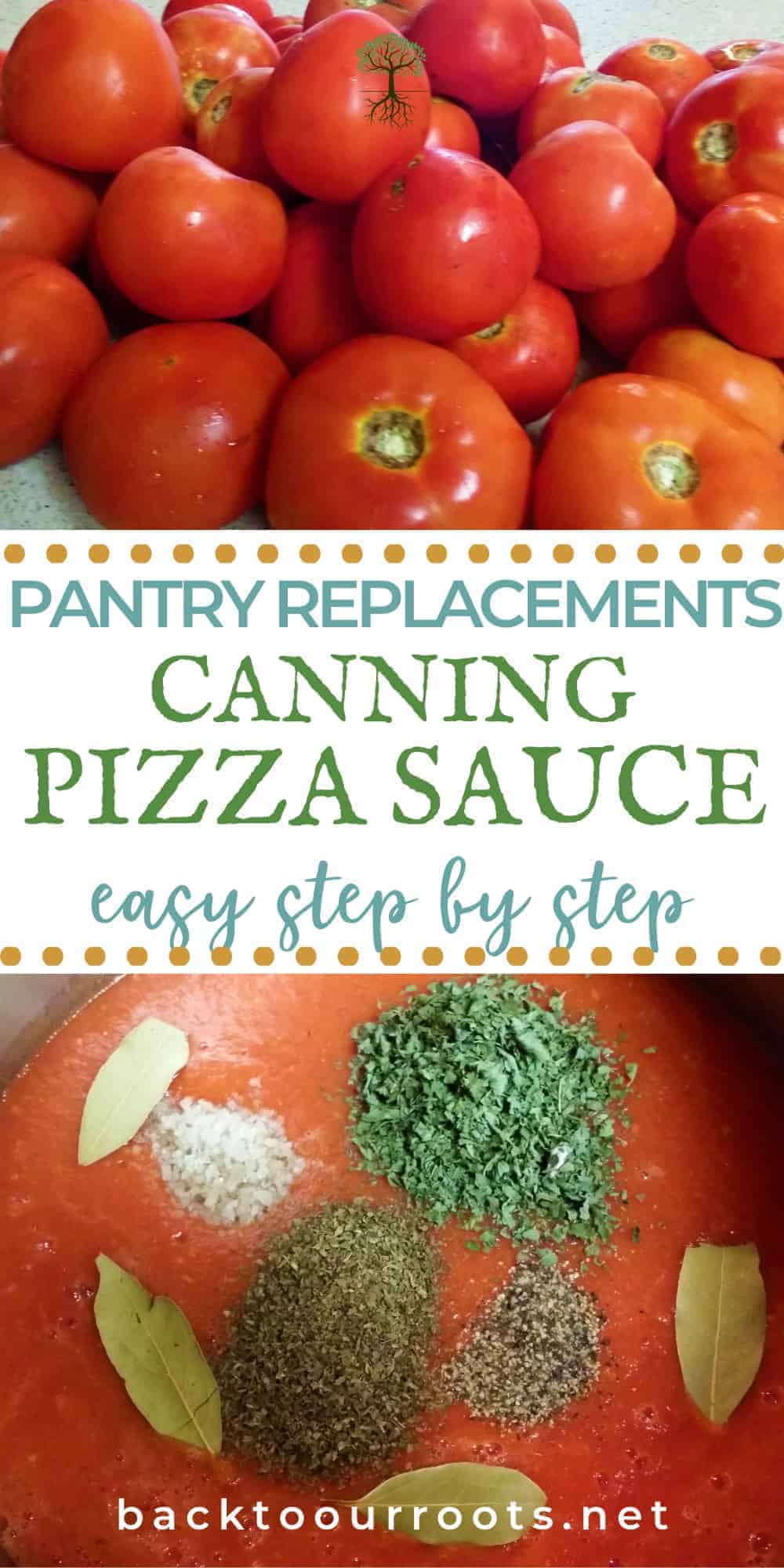 How to Can Pizza Sauce