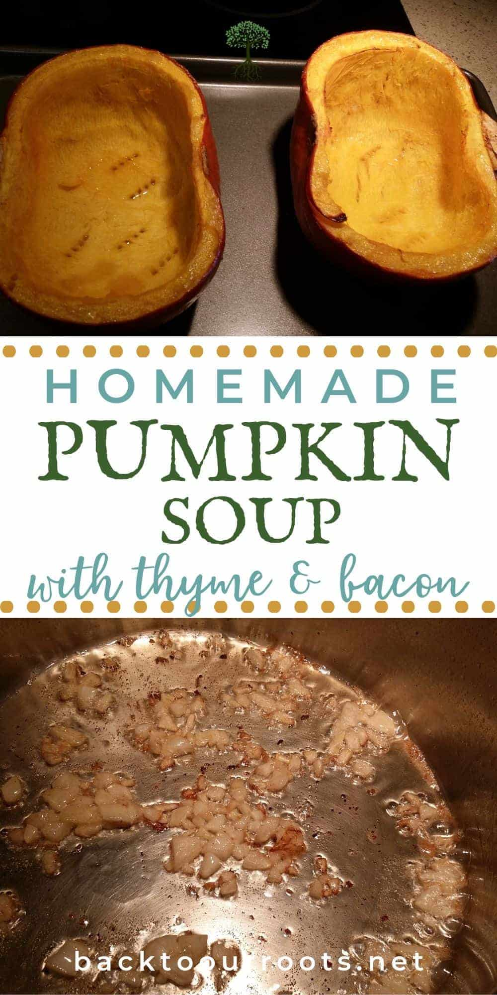 Pumpkin Thyme Soup