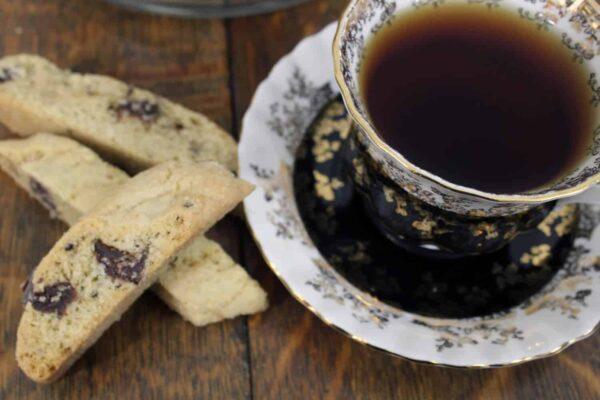 Homemade Chocolate Chunk Biscotti Cookie Recipe