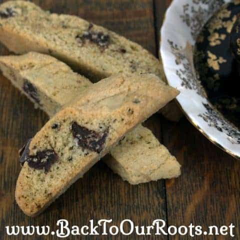 Temptation, Thy Name is Biscotti