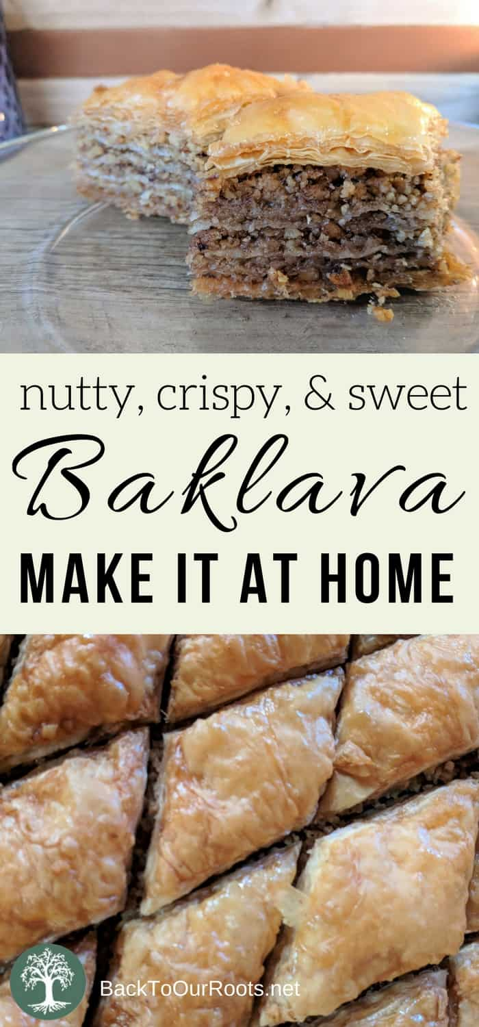 How To Make Baklava at Home