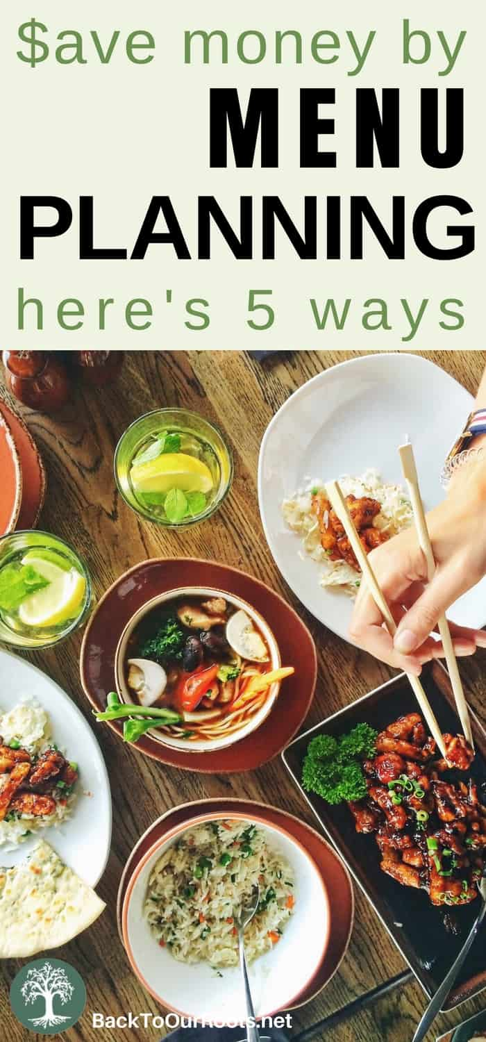 5 Ways Menu Planning Saves You Money