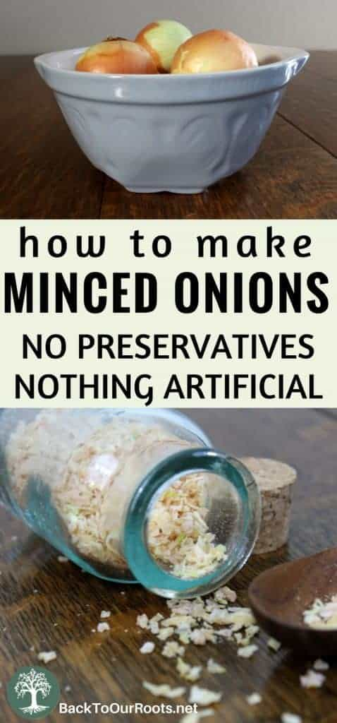 How to Make Better for You Minced Onions at Home