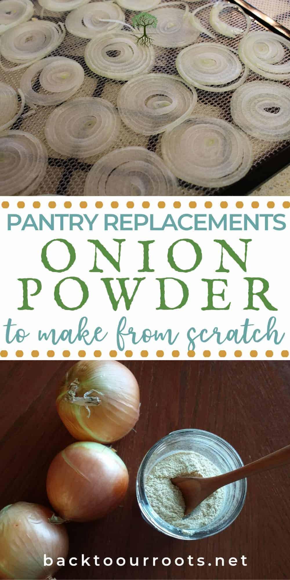 How to Make Homemade Onion Powder