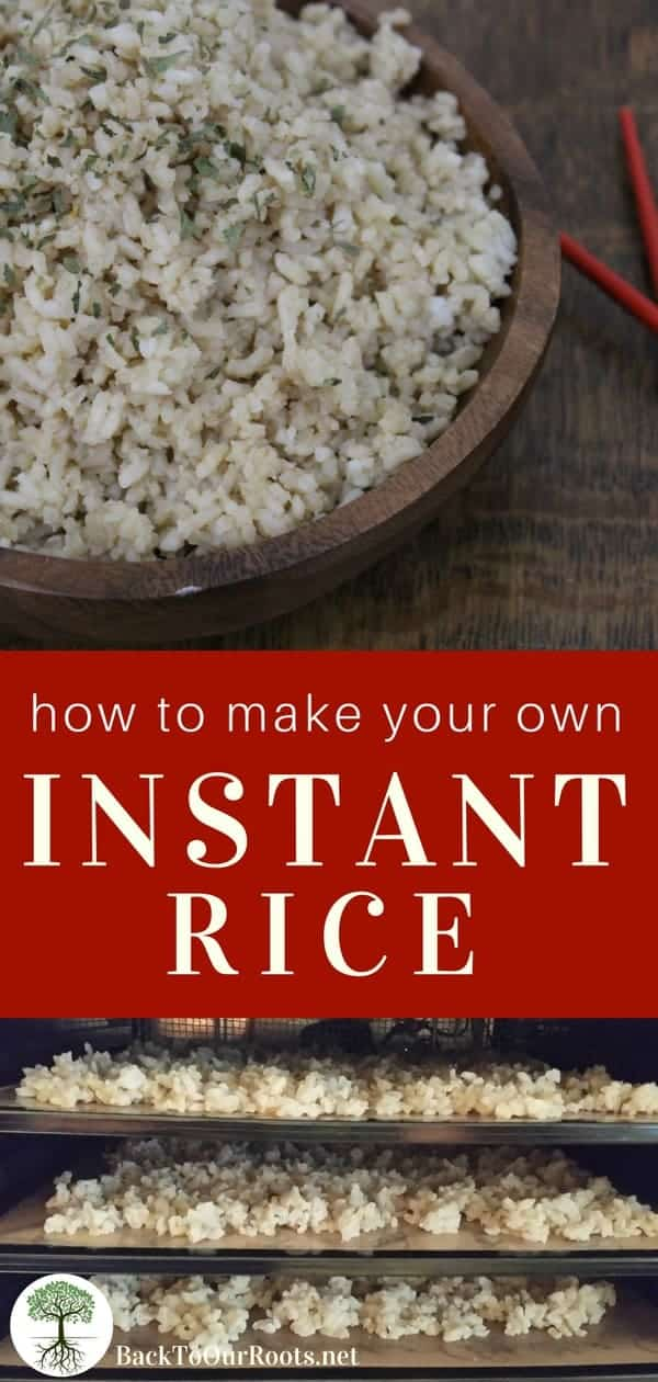 How to Make Your Own Instant Rice