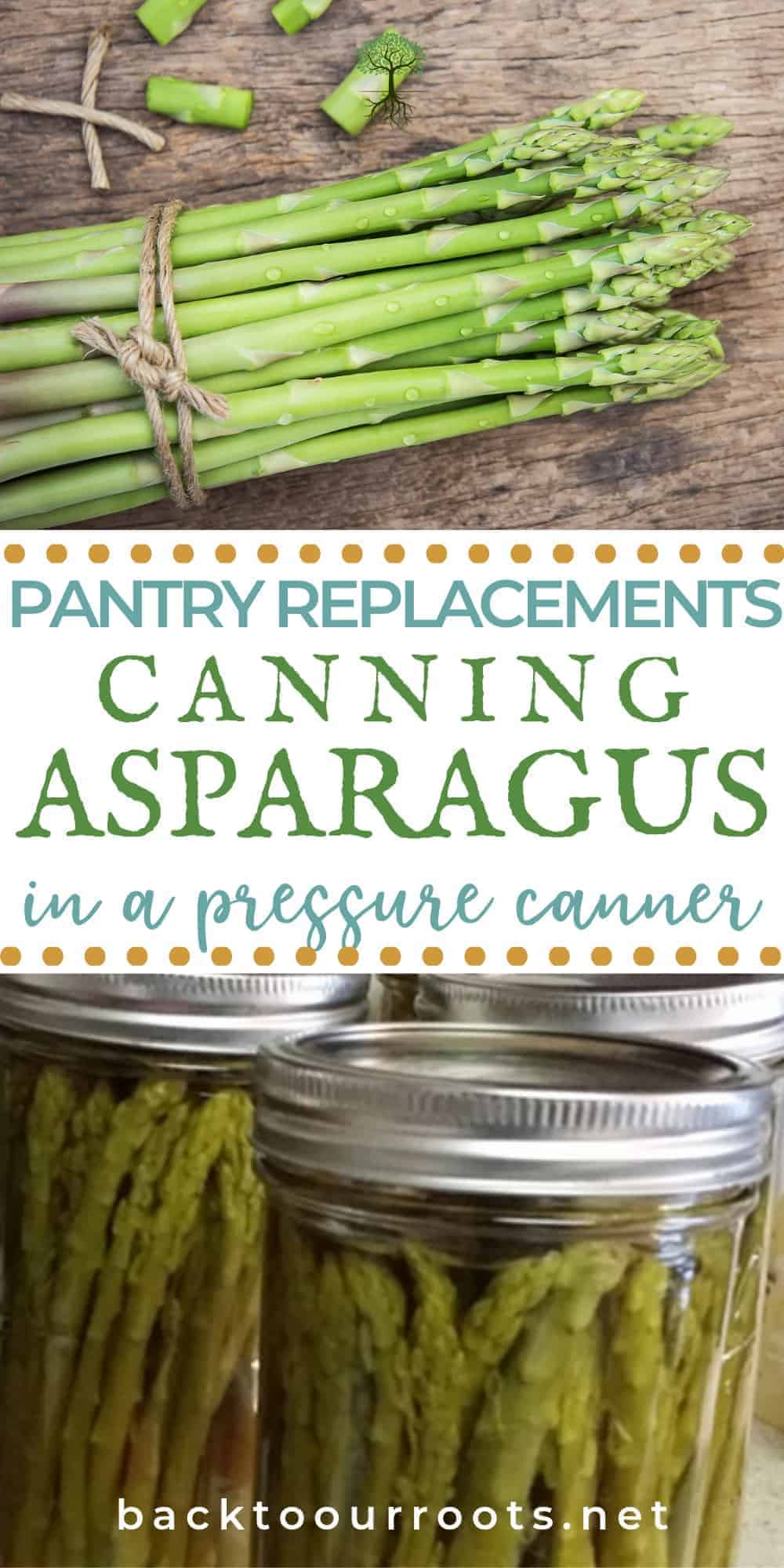 Pressure Canning Asparagus