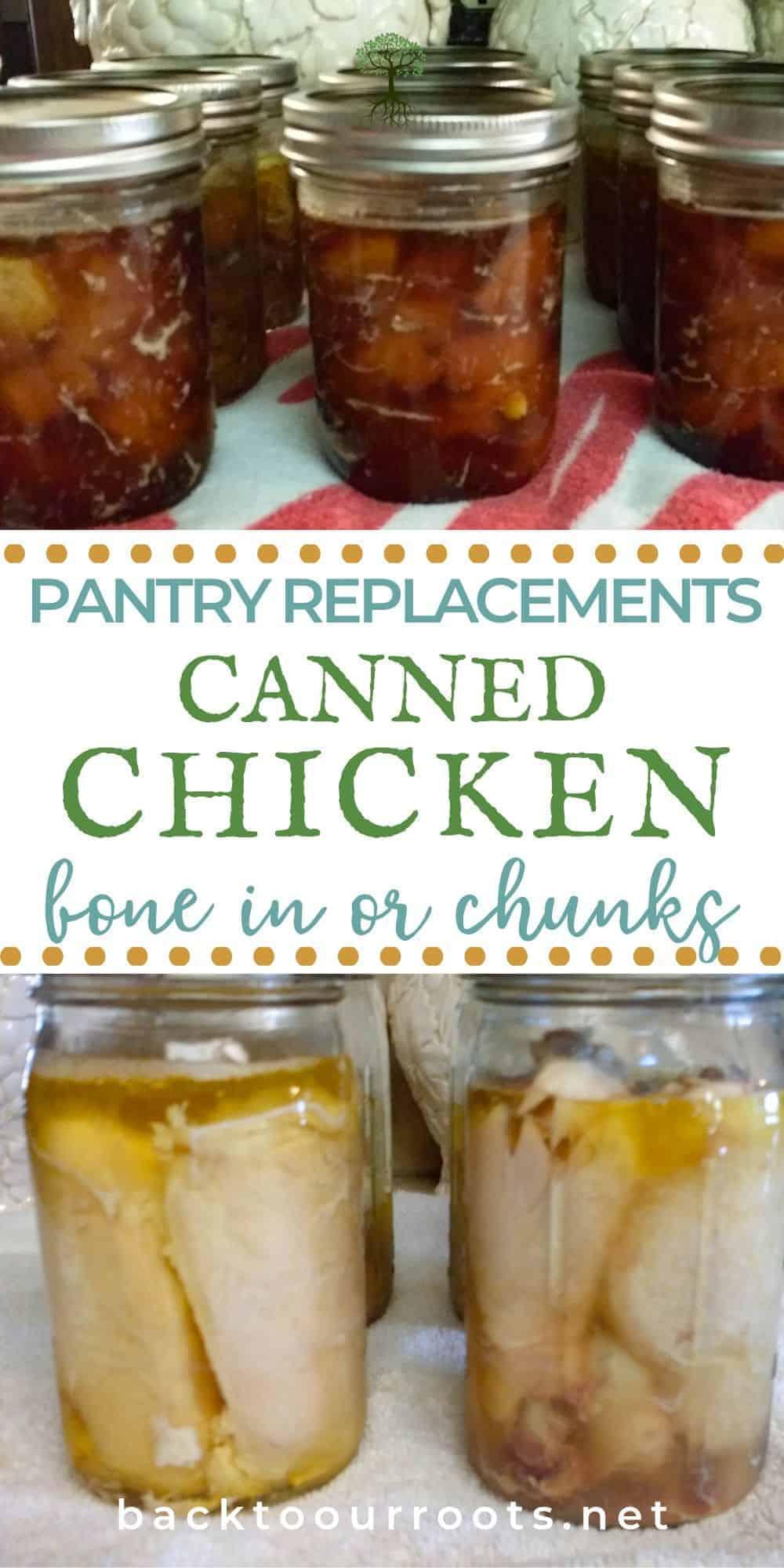 Pressure Canning Chicken