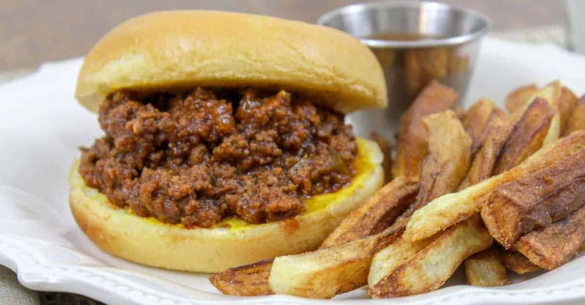 The Best Homemade Sloppy Joes Recipe
