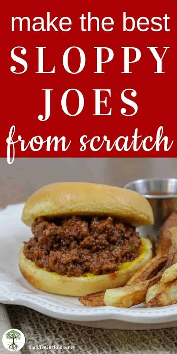 The Best Sloppy Joes Sauce Recipe