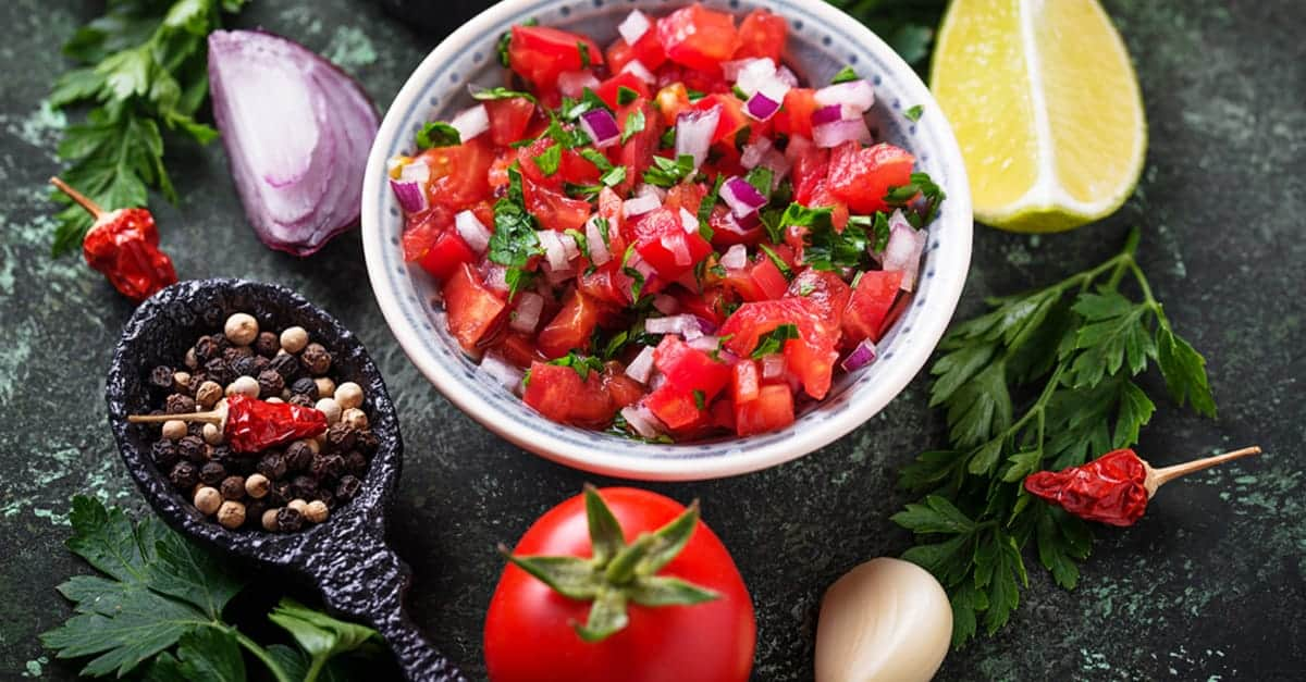The Best Homemade Salsa Recipe {for Canning}
