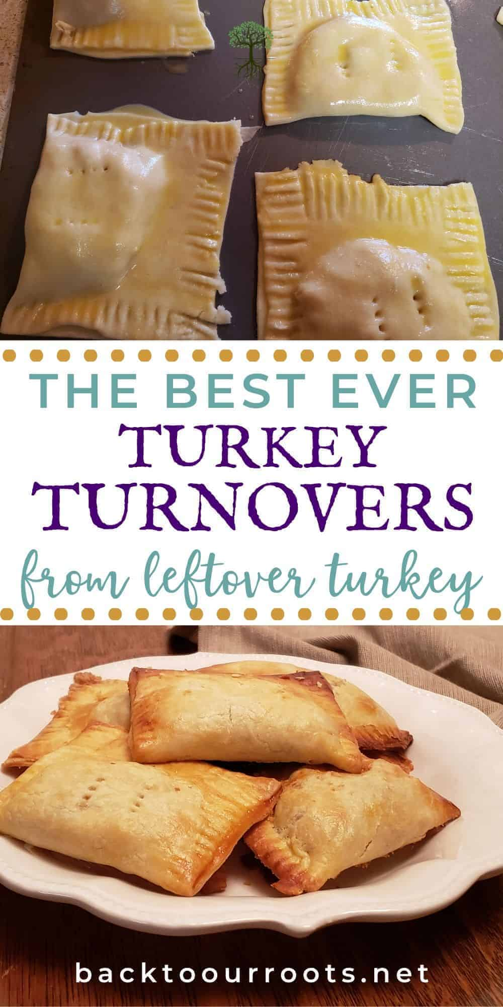Leftover Turkey Turnovers