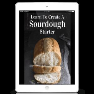 sourdough starter book cover