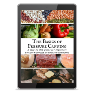 Pressure Canning Book Cover