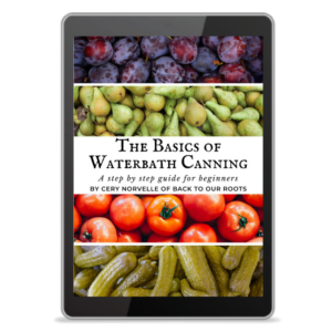 Waterbath Canning Book Cover
