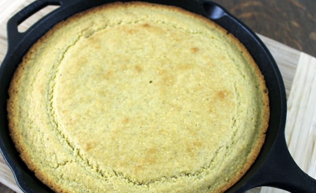 Easy Sourdough Cornbread