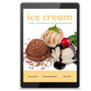 Ice Cream eBook Cover
