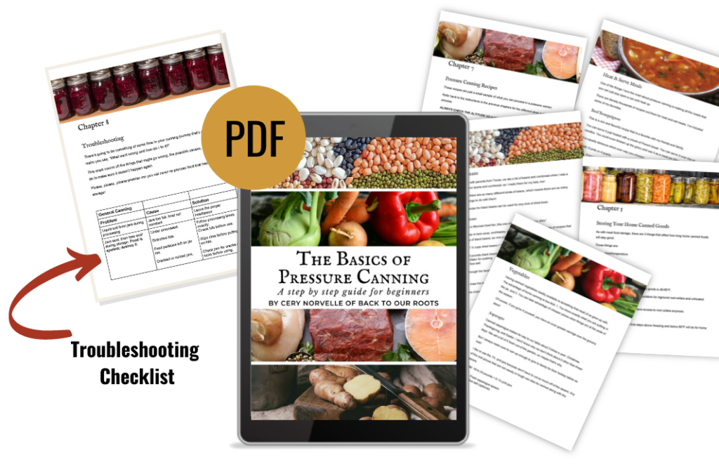 sample pages from The Basics of Pressure Canning