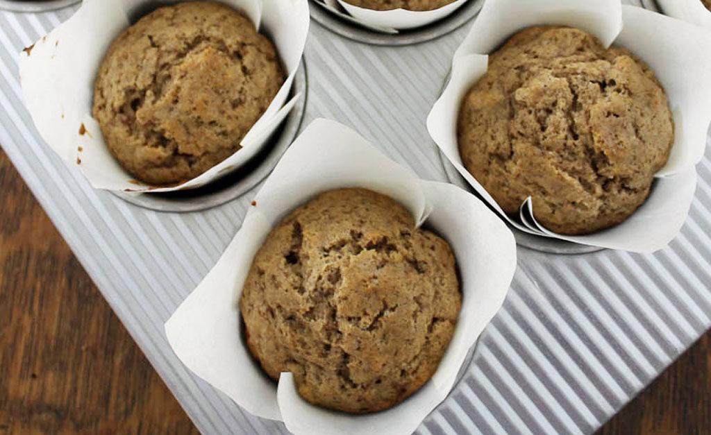 Quick & Delicious Sourdough Cinnamon Pecan Muffins